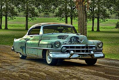 1951 Cadillac Poster by Tim McCullough