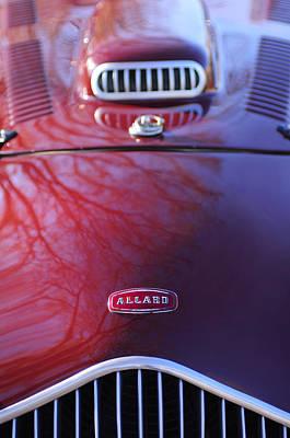 1952 Allard K2 Factory Special Roadster Grille Emblem Poster