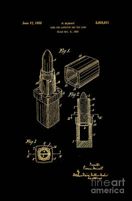 1952 Chanel Lipstick Case 10 Poster by Nishanth Gopinathan
