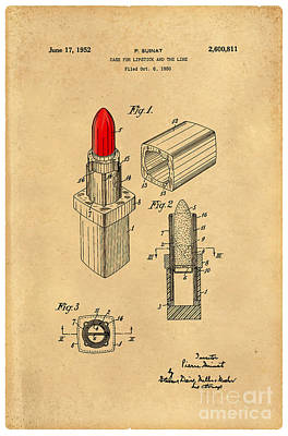1952 Chanel Lipstick Case 4 Poster by Nishanth Gopinathan