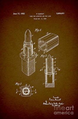 1952 Chanel Lipstick Case 9 Poster by Nishanth Gopinathan