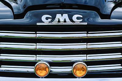 1952 Gmc Suburban Grille Emblem Poster