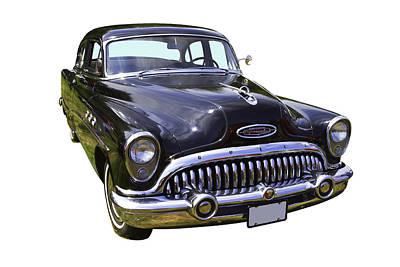 1953 Buick Special Antique Car Poster by Keith Webber Jr