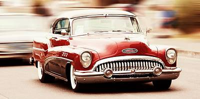 Old Cars Poster featuring the photograph 1953 Buick Super by Aaron Berg