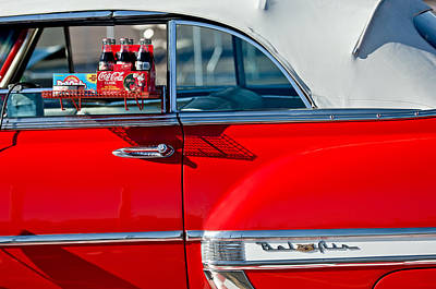 1953 Chevrolet Belair Convertible Poster