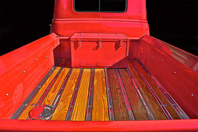 1953 Chevy Pick-up Poster by Dave Koontz