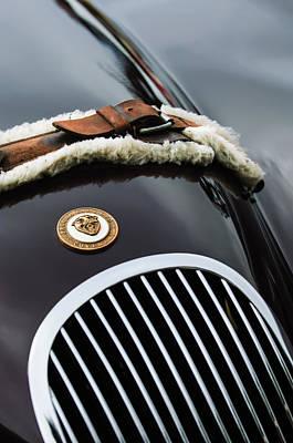 1953 Jaguar Xk 120se Roadster Grille Emblem Poster
