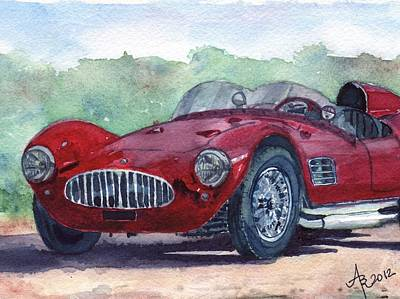 1954 Maserati A6 Gsc Tipo Mm Poster
