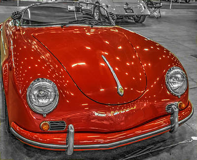 1954 Porsche 356 Speedster V2 Poster