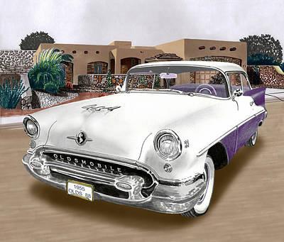 1955 Oldsmobile Super 88 Poster