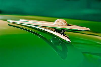 1955 Packard Clipper Hood Ornament 3 Poster by Jill Reger
