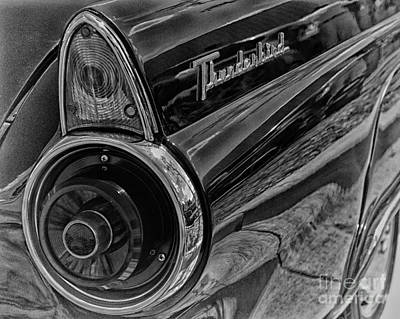 Poster featuring the photograph 1955 Thunderbird by JRP Photography