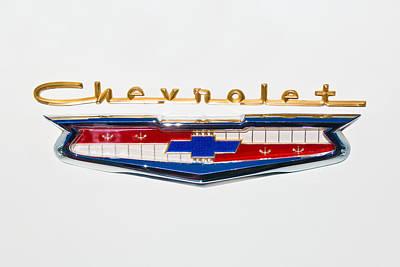 1956 Chevrolet 210 Emblem Poster