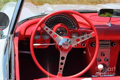 1956 Chevrolet Corvette 5d23557 Poster