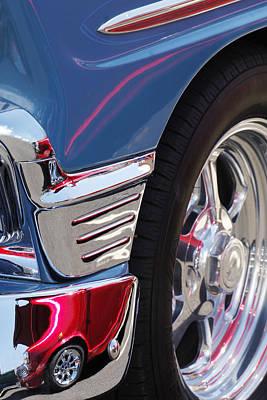 1956 Chevrolet Handyman Wagon Wheel -179c Poster by Jill Reger