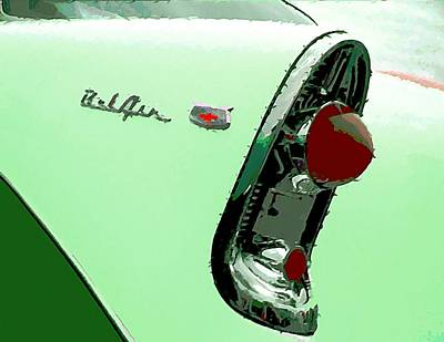 1956 Chevrolet Poster by John Madison