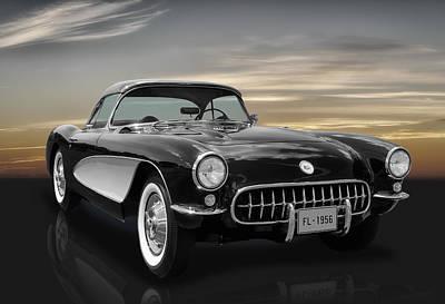 1956 Corvette - C1 Poster