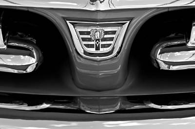 1956 Dodge Royal Lancer Grille Emblem Poster by Jill Reger