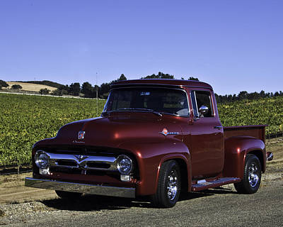 1956 Ford Pickup Poster