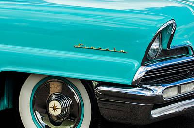 1956 Lincoln Priemere Emblem -0792c Poster