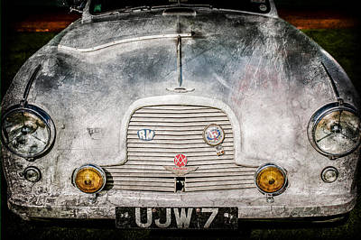 1957 Aston Martin Db2-4 Mark IIi -0617ac Poster by Jill Reger