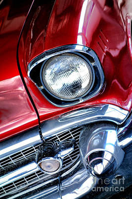 1957 Chevy Bel Air Poster