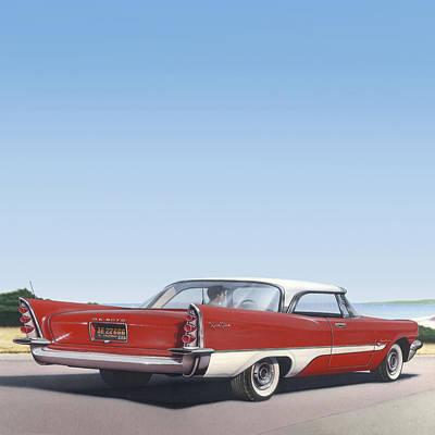 1957 De Soto - Square Format Image Picture Poster