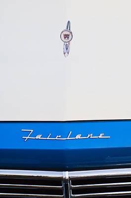 1957 Ford Fairlane Hood Ornament Poster