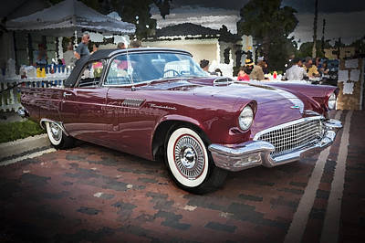 1957 Ford Thunderbird Convertible  Poster