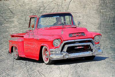 1957 Gmc Pickup Poster