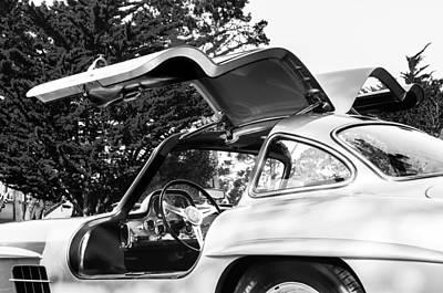 1957 Mercedes-benz Gullwing  Poster