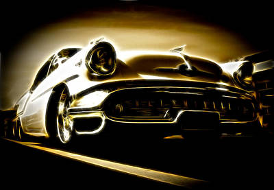 1957 Oldsmobile 88 Poster by Phil 'motography' Clark