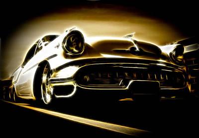 1957 Oldsmobile 88 Poster