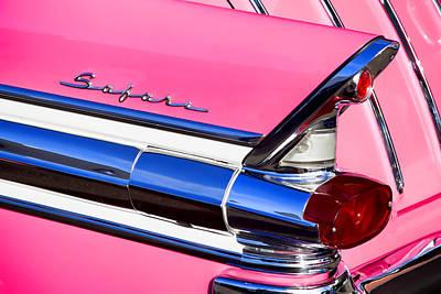 1957 Pontiac Safari Two-door Wagon Poster by Carol Leigh