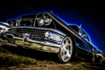 1958 Buick Century Poster by motography aka Phil Clark