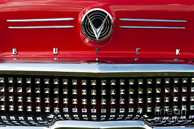 1958 Buick Special Car Poster by Tim Gainey