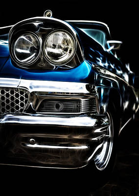1958 Ford Fairlane Poster by motography aka Phil Clark