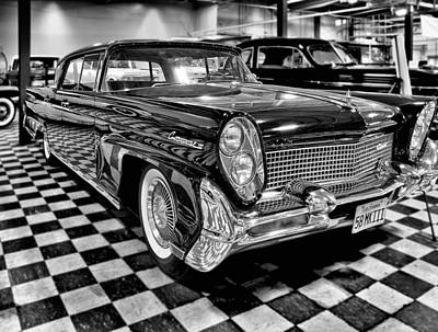 1958 Lincoln Continental Mk IIi Poster by Michael Gordon