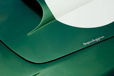 1959 Aston Martin Db4 Gt Hood  Poster