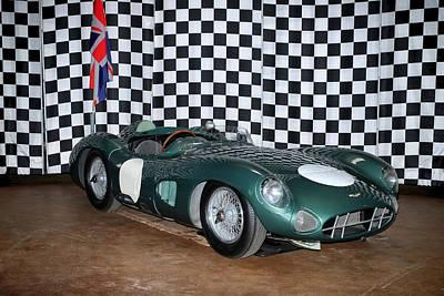 Poster featuring the photograph 1959 Aston Martin Dbr1 by Boris Mordukhayev
