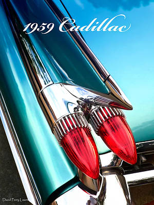 1959 Cadillac  Poster by David Perry Lawrence