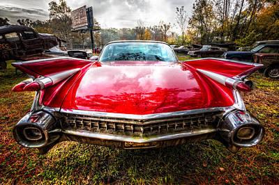 1959 Cadillac Poster by Debra and Dave Vanderlaan