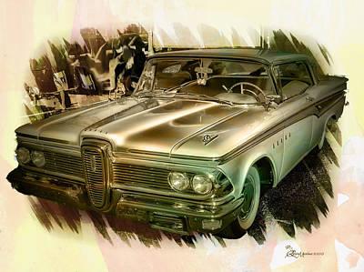 1959 Edsel Poster