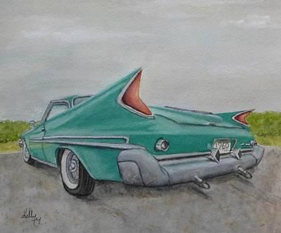 1960 Classic Saratoga Chrysler Poster