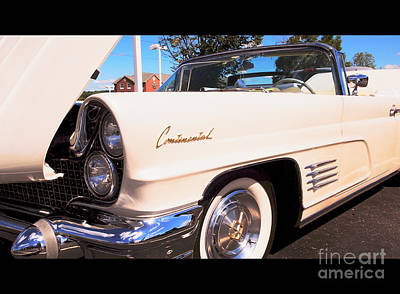 1960 Lincoln Continental Convertible Poster