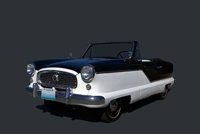 Poster featuring the photograph 1960 Nash Metropolitan by Tim McCullough