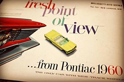 1960 Pontiac Matchbox Cover Car Poster