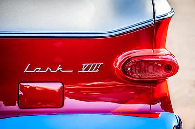 1960 Studebaker Lark Viii Taillight Emblem -154c Poster by Jill Reger