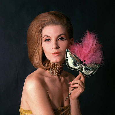 1960s Glamorous Woman In High Fashion Poster