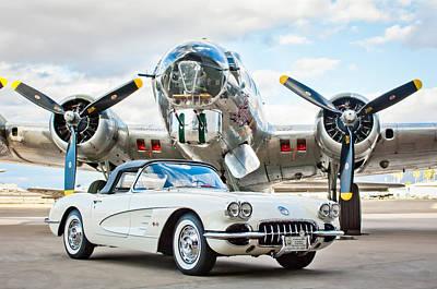 1961 Chevrolet Corvette Poster